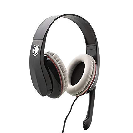 Sades SA701 3.5mm Stereo Gaming Headset Over Ear Wired Headphone with Mic for Laptop Tablet PC MAC PS4 Gamer