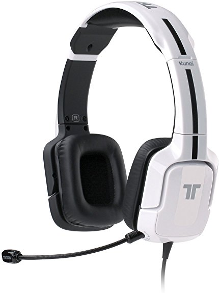 TRITTON Kunai Universal Stereo Headset for PS4, PS3, and X360- White