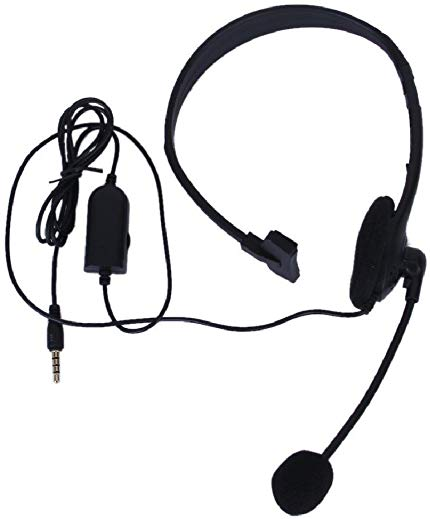 Hot Universal Super Bass Headphone 3.5mm single microphone headset Earphone Headset With Mic