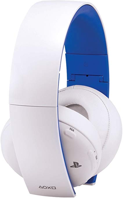 PlayStation Gold Wireless Headset (Bulk Packaging) (Glacier White)