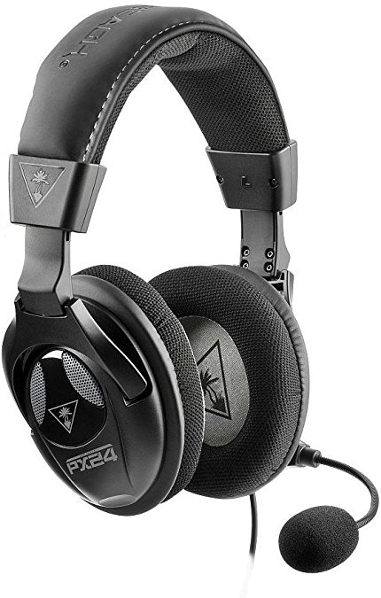 Turtle Beach - Ear Force PX24 Multi-platform Amplified Gaming Headset - Superhuman Hearing - PS4, Xbox One, PC
