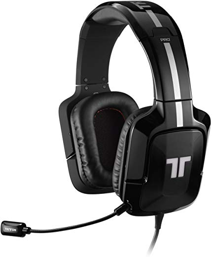 TRITTON Pro+ 5.1 Surround Gaming Headset for PS4, PS3, and X360- Black