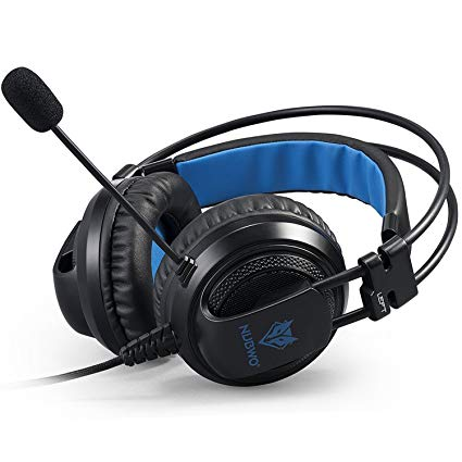 Ps4 Xbox one PC Gaming Headset, Micolindun Over Ear Stereo Gaming Headphones with Mic Mute & Volume Control for Xbox One PS4 PlayStation 4 PC Computer Smart Phone