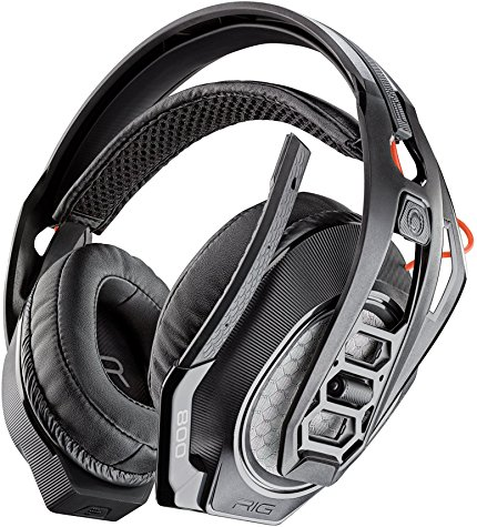 Plantronics RIG 800HS Wireless Headset for Playstation 4, Professional Gaming Headset