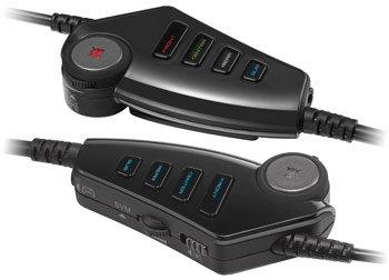 TRITTON Pro+ 5.1 Surround Headset - Powerful Inline Controls