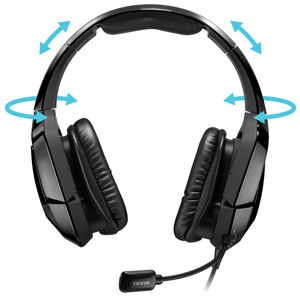 TRITTON 720+ Surround Headset - Newly Designed for Extreme Comfort