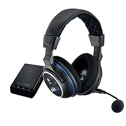 Turtle Beach PX4M Ear Force PX4 Wireless Dolby 5.1 Surround Sound Gaming Headset For Ps4, Ps3, Xbox 360