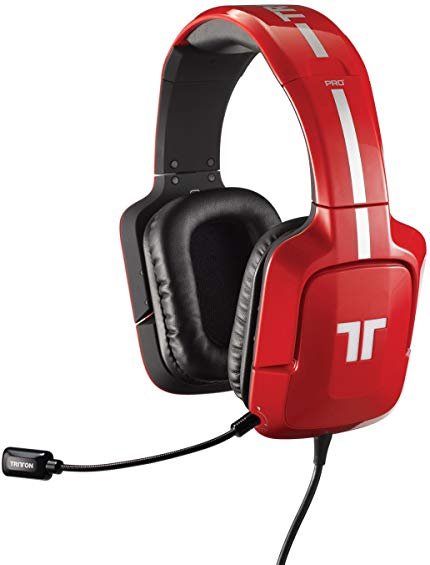 TRITTON Pro+ 5.1 Surround Gaming Headset for PS4, PS3, and X360 - Red