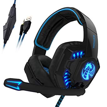 LIHAO I8S Gaming Headset for PS4 with Microphone