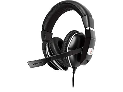 ROSEWILL Stereo Gaming Headset for Wii U , PS4 , Xbox One , PC , MAC , Laptop Computer , 3.5mm Stereo Over-Ear Gaming Headphones with Adjustable Mic and Comfortable Headband (RGH-3300)